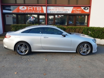 <strong>MERCEDES-BENZ CLASSE E COUPE</strong><br/>220 d 194ch Sportline 9G-Tronic