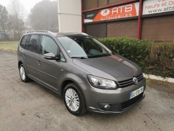 <strong>VOLKSWAGEN TOURAN</strong><br/>1.6 TDI 105 FAP BlueMotion Cup 7 Places
