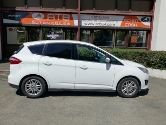 <strong>FORD C-MAX</strong><br/>1.6 TDCi 95ch FAP Titanium X / C-MAX II / Ph1