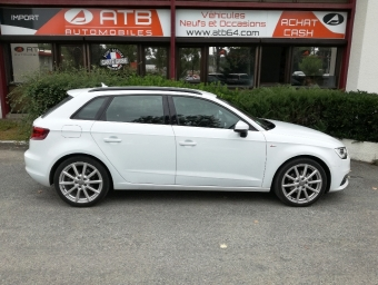 <strong>AUDI A3 BERLINE</strong><br/>1.6 TDI 110ch FAP S line (2014A)