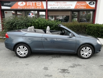 <strong>VOLKSWAGEN EOS</strong><br/>2.0 TDI 140ch FAP Confortline (2007A)