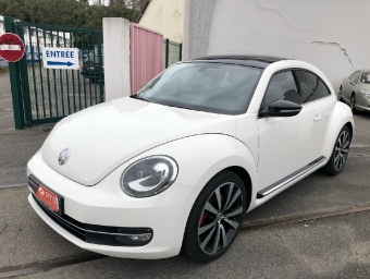 <strong>VOLKSWAGEN COCCINELLE</strong><br/>2.0 TSI 200ch White Turbo DSG6 (2012A)