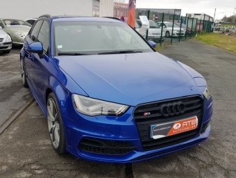 <strong>AUDI S3 SPORTBACK</strong><br/>2.0 TFSI 300ch quattro S tronic 6 (2014A)