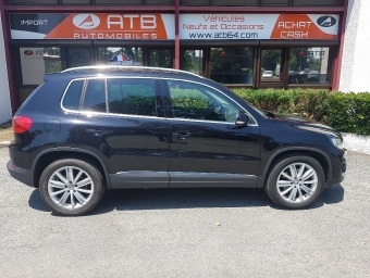 <strong>VOLKSWAGEN TIGUAN</strong><br/>2.0 TDI 140ch BlueMotion Technology FAP Sportline