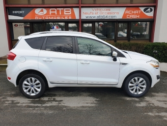 <strong>FORD KUGA</strong><br/>2.0 TDCi 140ch FAP Titanium 4x2 (2011A)
