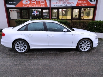 <strong>AUDI A4</strong><br/>2.0 TDI 150ch clean diesel DPF S line Multitronic Euro6 (2015A)