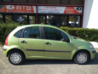 <strong>CITROEN C3</strong><br/>1.4i Pack Clim