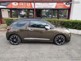 <strong>DS DS3 CABRIOLET</strong><br/>VTi 120 Airdream So Chic