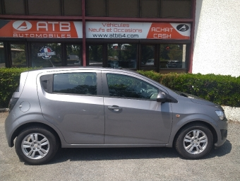 <strong>CHEVROLET AVEO</strong><br/>1.3 VCDi 75ch LT