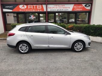 <strong>RENAULT MEGANE</strong><br/>Mégane Estate III 1.5 dCi 110 Limited