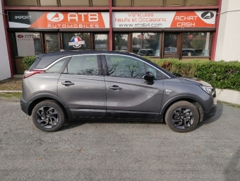 <strong>OPEL CROSSLAND X</strong><br/>1.2 Turbo 110 ch Design 120 ans