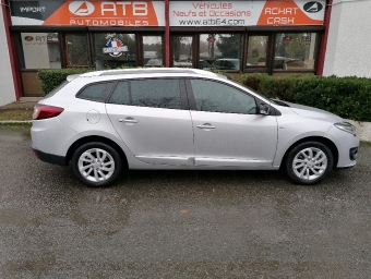 <strong>RENAULT MEGANE III ESTATE</strong><br/>1.5 dCi 110  Limited