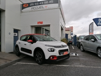 <strong>CITROEN C3</strong><br/>PureTech 110 S&S EAT6 Shine