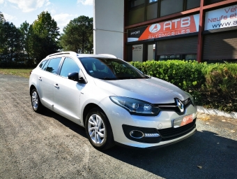 <strong>RENAULT MEGANE</strong><br/>Mégane Estate III 1.5 dCi 110 Energy eco2 Limited