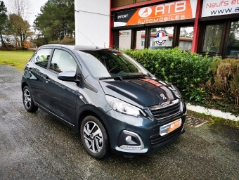 <strong>PEUGEOT 108</strong><br/>VTi 72ch S&S BVM5 Allure