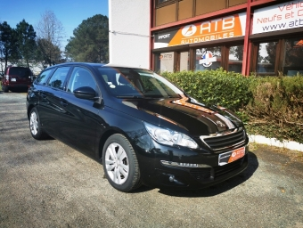 <strong>PEUGEOT 308</strong><br/>SW 1.6 BlueHDi 120ch S&S BVM6 Business Pack
