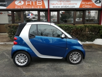 SMART FORTWO CABRIOLET 71ch Limited Two Softouch (2008A)