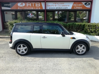 <strong>MINI CLUBMAN</strong><br/>Cooper D 110ch