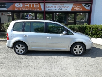 <strong>VOLKSWAGEN TOURAN</strong><br/>1.9 TDI 105ch Match