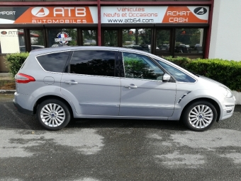 <strong>FORD S-MAX</strong><br/>2.0 TDCi 140ch FAP Titanium GPS PowerShift 7 places (2013A)