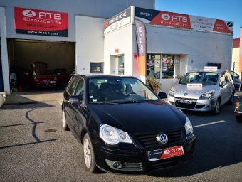 <strong>VOLKSWAGEN POLO</strong><br/>1.4 TDI 70ch United 5p (2009A)