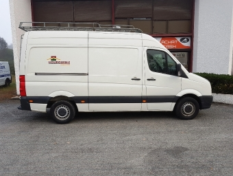 <strong>VOLKSWAGEN CRAFTER</strong><br/>CHASSIS CABINE 35 3665 2.5 TDI 136