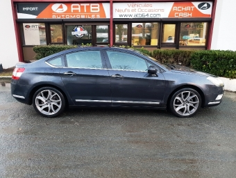 <strong>CITROEN C5</strong><br/>2.0 HDi160 FAP Exclusive + BVA6 (2012A)