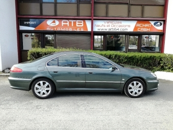 <strong>PEUGEOT 607</strong><br/>V6 2.7 HDi 24v Féline A