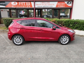 <strong>FORD FIESTA</strong><br/>1.0 EcoBoost 100 ch S&S BVM6 Titanium