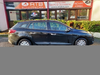 <strong>RENAULT MEGANE</strong><br/>Mégane Estate III 1.5 dCi 90 FAP eco2 Business
