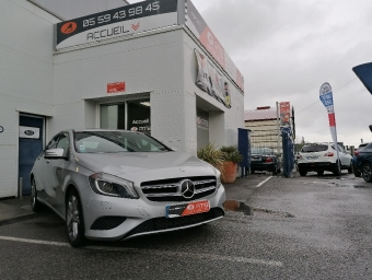 <strong>MERCEDES CLASSE A</strong><br/>180 CDI BlueEFFICIENCY Inspiration 7-G DCT A
