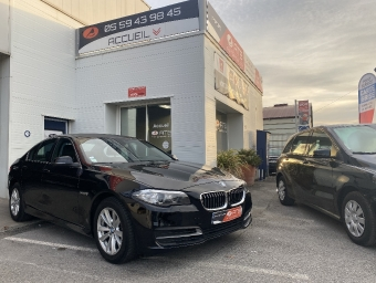 <strong>BMW SERIE 5</strong><br/>518d 150 ch Lounge Plus A