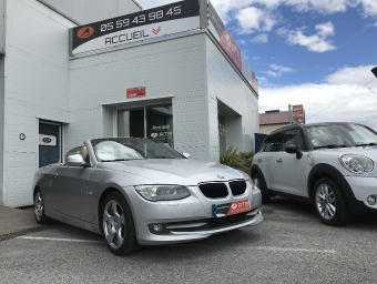 <strong>BMW SERIE 3</strong><br/>Cab 320d 184 ch Luxe