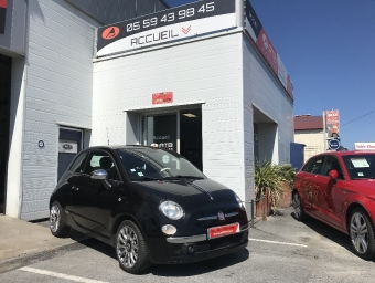<strong>FIAT 500</strong><br/>1.2 8V 69 ch S&S by Gucci