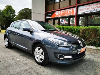 <strong>RENAULT MEGANE</strong><br/>Mégane III dCi 95 FAP eco2 Life