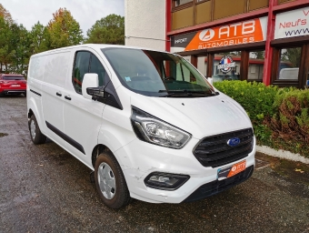 <strong>FORD TRANSIT CUSTOM</strong><br/>FOURGON 300 L2H1 2.0 ECOBLUE 130 TREND BUSINESS
