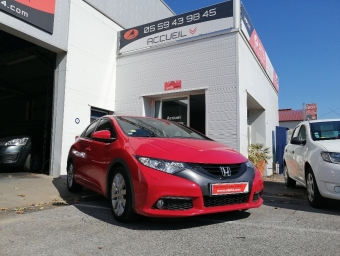 <strong>HONDA CIVIC</strong><br/>1.6 i-DTEC 120 Exécutive