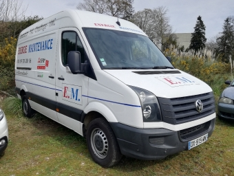 <strong>VOLKSWAGEN CRAFTER</strong><br/>VAN 30 L2H2 2.0 BITDI 163 FAP EURO5 BUSINESS LINE