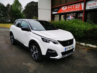 <strong>PEUGEOT 3008</strong><br/>BlueHDi 130ch S&S EAT8 GT Line